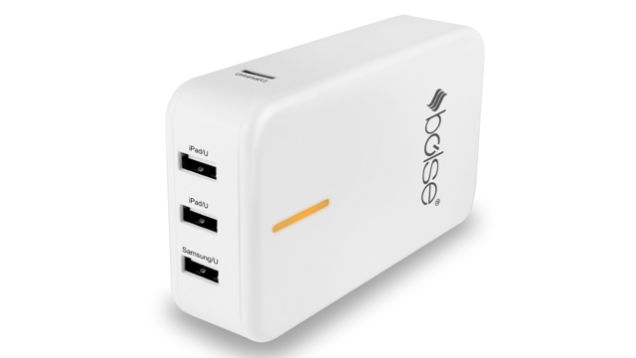 Bolse 40W (5V/8A) 5-Port USB Wall/Desktop Charger