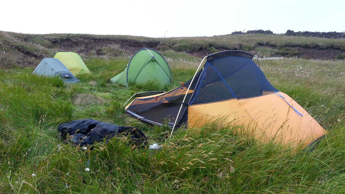 A quiet camp