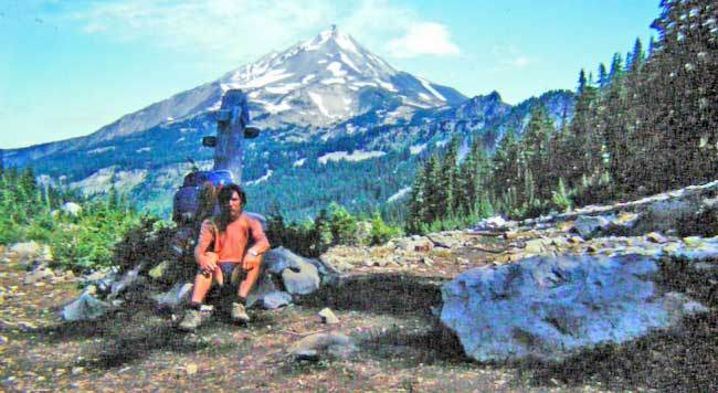 Chris Townsend on the Pacific Crest Trail
