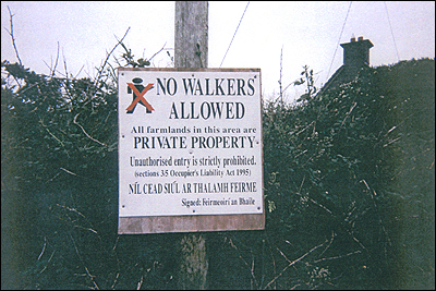 No Walkers Allowed