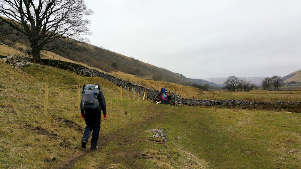Dales Way from Kettlewell