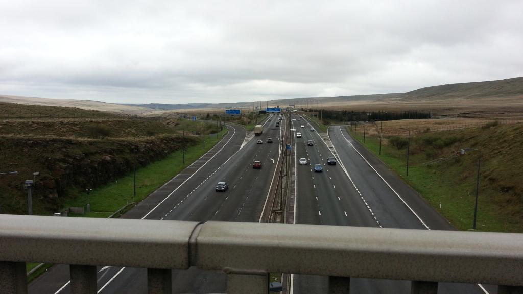 M62 Trans-Pennine Motorway